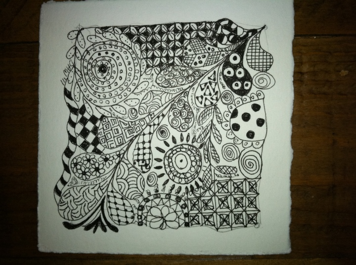 Meditation Monday – Zentangle ® Art