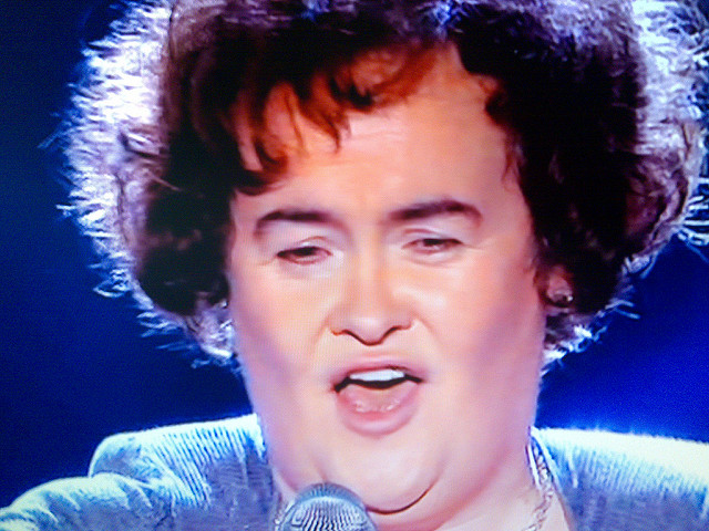Casual Friday – Susan Boyle
